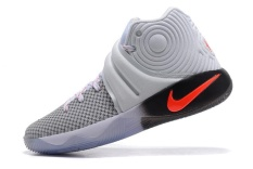 Kyrie 2 BHM EP Irving Basketball Shoe Mens Sneakers Top Quality Authentic Offical Grey Size EU:42 - intl