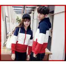 LF Jaket Pasangan Estonia / Jacket Couple / Jaket Sepasang - Best Seller LC - Navy