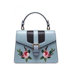LAFESTIN Womens Crossbody Handbags Retro Bordir Shoulder Bag Kulit-Intl