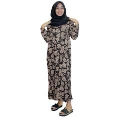 Longdres Batik, Daster Lengan Panjang Batik, Baju Tidur, Piyama, Kancing, Daster Bumil, Busui (LPT001-63)