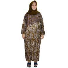 Longdres Jumbo Batik, Daster Lengan Panjang Jumbo, Baju Tidur, Piyama, Kancing, Daster Bumil, Busui (LPT003-09)