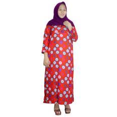 Longdres Jumbo Batik, Daster Lengan Panjang Jumbo, Baju Tidur, Piyama, Kancing, Daster Bumil, Busui (LPT003-24)