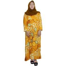 Longdres Jumbo Batik, Daster Lengan Panjang Jumbo, Baju Tidur, Piyama, Kancing, Daster Bumil, Busui (LPT003-26)