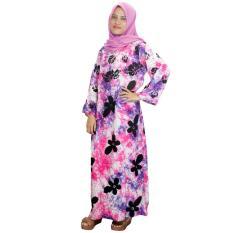 Longdres Lengan Panjang Batik Cap Halus Pekalongan, Baju Tidur, Piyama, Kancing, Daster Bumil, Daster Busui (RLD001-13)