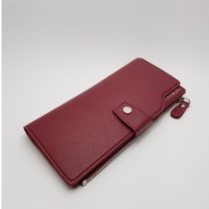 Louis - Clutch Dompet Unisex Panjang - Red