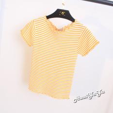 Manis Sutra Es Musim Semi Baru Baju Dalaman (Kuning pucat)