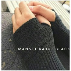 Manset Rajut Handshock Deker Fingger  - PROMO Best Seller