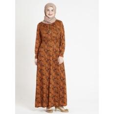 gamis busana muslim  jersey dress Maxi Zahra   C