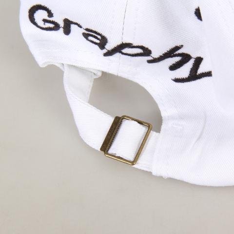 Topi Matahari Hip-Hop Kilas Balik Dapat Disesuaikan Topi Bisbol Pria Wanita Putih + Hitam