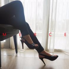 Isabel - Sepatu Wanita Hak Tinggi BRENDA Heels - Hitam