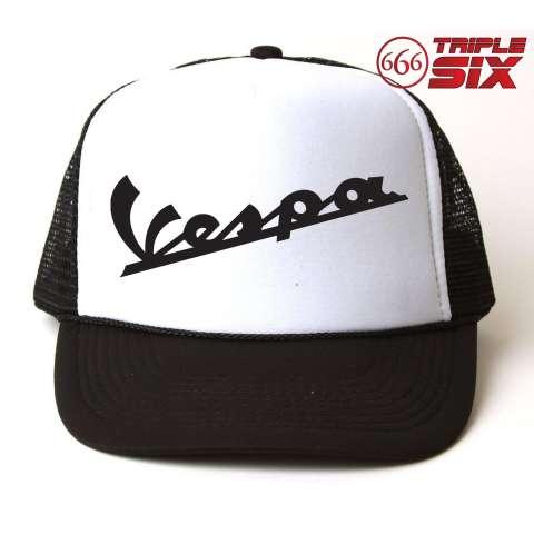 MICOSHOP - Topi Trucker Vespa - READY STOCK