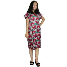 Midi, Daster Midi, Dress Santai, Baju Tidur, Piyama, Atasan Batik (BPT002-118)