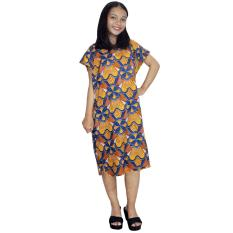 Midi, Daster Midi, Dress Santai, Baju Tidur, Piyama, Atasan Batik (BPT002-119)