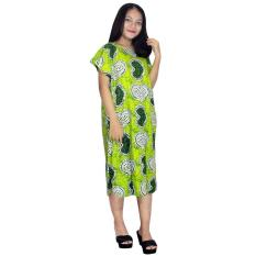 Midi, Daster Midi, Dress Santai, Baju Tidur, Piyama, Atasan Batik (BPT002-127)