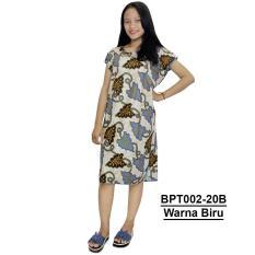 Midi, Daster Midi, Dress Santai, Baju Tidur, Piyama, Atasan Batik (BPT002-20)