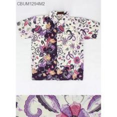 Mila Style - Baju Kemeja Batik Anak Katun Cibulan CBUM1294 - Multicolor