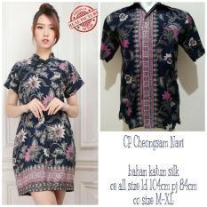 Miracle Couple Midi Dress Keysa Cheongsham Dan Kemeja Batik Pria