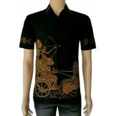 Model Kemeja Batik Pria Kemeja Batik Pekalongan Kemeja Batik Modern Motif Arjuna Coklat