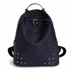 Montana Tas Ransel Korea Style DOTS Studded Backpack - Hitam