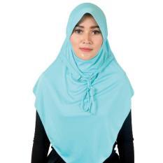 Montaza Hijab Jilbab Instan Syar'i [Toska] Kerudung Geblus Syari Spandek OKI 15