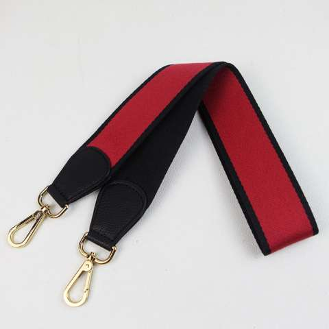 More584 Strap You Kanvas Amazon Red Black - Strapyou - Strap Bag - Tali Tas Lebar