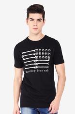 MOUTLEY Pakaian Atasan Kasual Kaos T-Shirt Pria Men Tshirt Black Diskon discount murah bazaar baju celana fashion brand branded