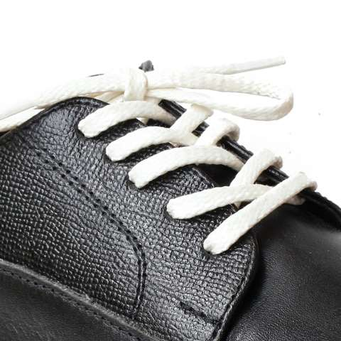 Mr. Sholeaces - Tali Sepatu Lilin Gepeng Thin 5mm - Putih Tulang (White Bone