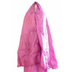 Mukena Abutay Polkadot - Pink