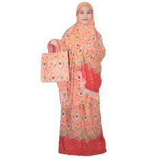 Mukena Bali, Mukena Batik, Mukena Dewasa Bahan Rayon (MPT001-24)