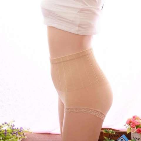 Munafie Slim Pant Celana Korset Grade A (All Size ) - Cream 2