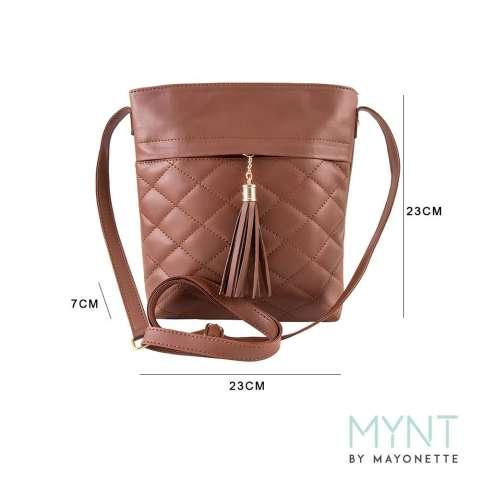 MYNT by Mayonette Tas wanita Korean Style Tas Fashion Tas Selempang Branded Trendy Tery Sling -