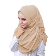 Narinda Hijab Kerudung Instan - [Warna Coksu]