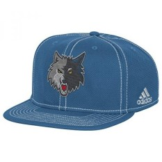 NBA Minnesota Timberwolves Mens Lights out Flat Brim Snapback Cap, One Size, Fashion - intl