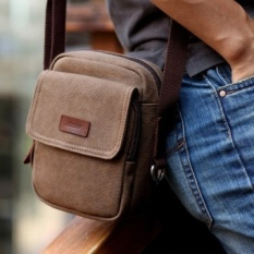 New arrival New Style small canvas messenger bag , brand designer small size fashion multi-function men shoulder bag, wholesale price