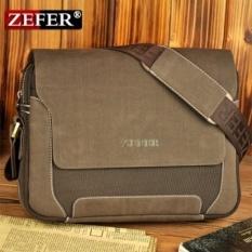 New collection Zefer man fashion canvas bag, male casual shoulder bags, men messenger bag, high quality canvas laptop briefcase
