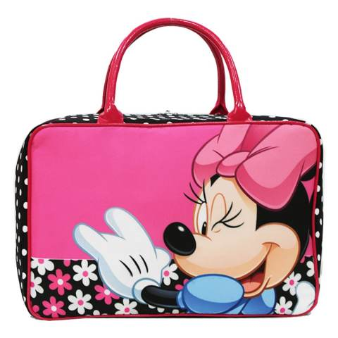 Onlan Travel Bag Karakter Anak Bahan Kanvas Halus - Pink 1