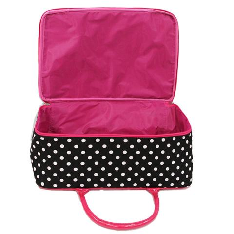 Onlan Travel Bag Karakter Anak Bahan Kanvas Halus - Pink 3