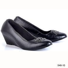 Original Azzurra  Jual Sepatu Formal / Kerja / Pesta Wanita 548-10  Warna : Hitam  Terbuat dari Bahan : Kulit