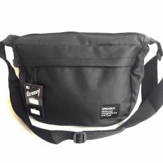Ormano Tas Selempang Waistbag Weistbag Berrio Waist Bag Fashion Accessories - Black