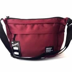 Ormano Tas Selempang Waistbag Weistbag Berrio Waist Bag Fashion Accessories - Marun