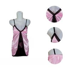 Ovila HRS Lingerie Baju Tidur sexy -Pink-