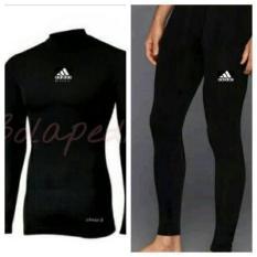 Paket Baselayer Paket Baju dan celana Renang longsleeve lengan panjang dan Celana Panjang manset
