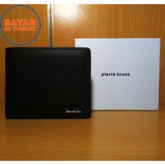 Pierre Loues Fashion Wallet Dompet Pria 107-11 Genuine Leather Kulit Asli - Black