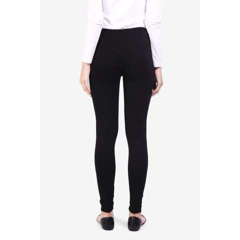 Pocabela  Women Clothing Pants & Leggings Leggings  Wanita Pakaian Celana & Legging Legging Black Hitam Diskon discount murah bazaar baju celana fashion brand branded 2