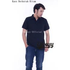 Polo Shirt Hitam/Koas Polo/Polo/Kaos Kerah Pria/Poloshirt/Baju Kaos Kerah/Kaos Kerah