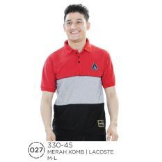 Polo Shirt / Kaos Kerah Wangky Pria 330-45 Azzurra Original