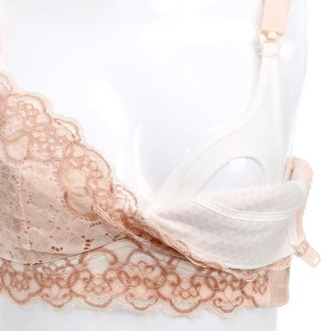 Hamil Pakaian Dalam Maternity Bra Menyusui Depan HASP Menyusui Bra-Intl 4
