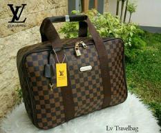 Promo Murah Tas Travel Lv Lois Vuitton Model Koper Jinjing Besar Big Motif Damier - 2D6I5O