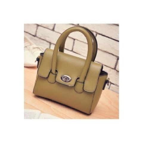 PU Tas Kulit/Elegant Retro Style Tas/Tas/baggreen (Ekspor) (Intl)-Intl 2
