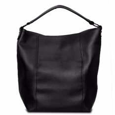 Quincy Label Tote Bag Dorise Shoulder Bag - Black